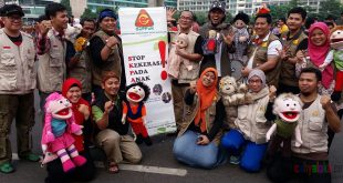 Aksi edukasi SKPA di Car Free Day