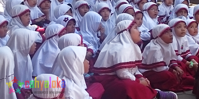 Kisah Palestina di SDIT Al Fitrah Bandung