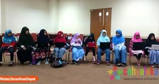 Kelas Literasi Anak Depok II-2018