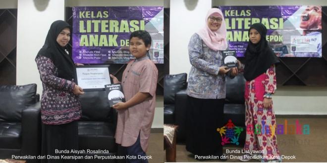 Pemkot Depok Dukung Program Kelas Literasi Anak