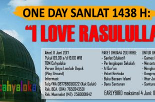 Sanlat Ramadhan 1438