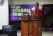 Guru Besar Ilmu Fisika Universitas Indonesia, Prof. Terry Mart, Beri Sambutan Launching Buku Petualangan di Hutan