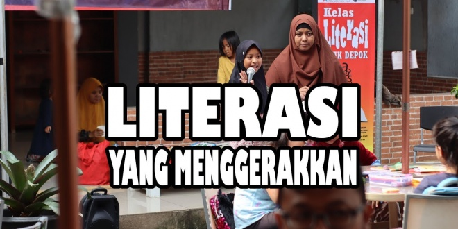 literasi yang menggerakkan
